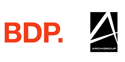 Logo fond blanc BDP et Archigroup